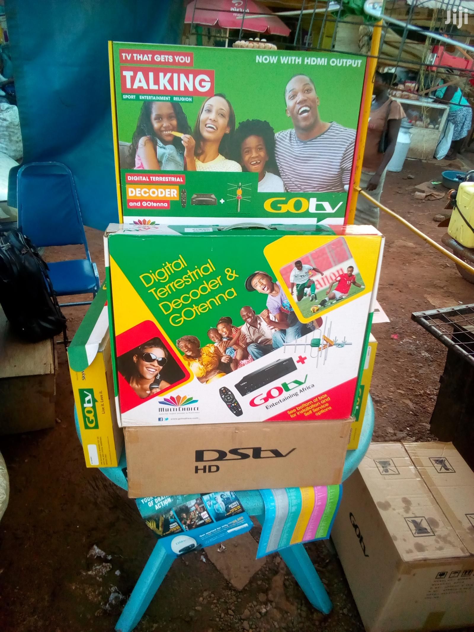 Gotv And DSTV And Free To Air Decoders | TV & DVD Equipment for sale in Kampala, Central Region, Uganda