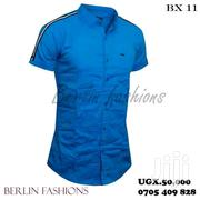 Stylish Short Sleeved Shirts So Nice With Good Materialin All Colours | Clothing for sale in Central Region, Kampala