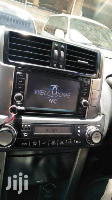 TOYOTA RADIO Fitted In Landcruiser Fj150 | Vehicle Parts & Accessories for sale in Kampala, Central Region, Uganda