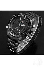 Brand New Naviforce Metallic Black Classic Watch | Watches for sale in Central Region, Kampala