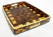Serving Tray Handwoven Banana Fibres   Kitchen & Dining for sale in Central Region, Kampala