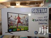 Solstar LED Digital Satellite Flat Screen TV 43 Inches | TV & DVD Equipment for sale in Central Region, Kampala