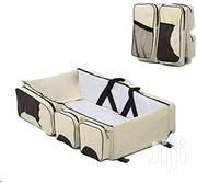 Baby Bed Infant Travel Bed 3 In 1 Multi-functional Folding Bag | Children's Furniture for sale in Central Region, Kampala