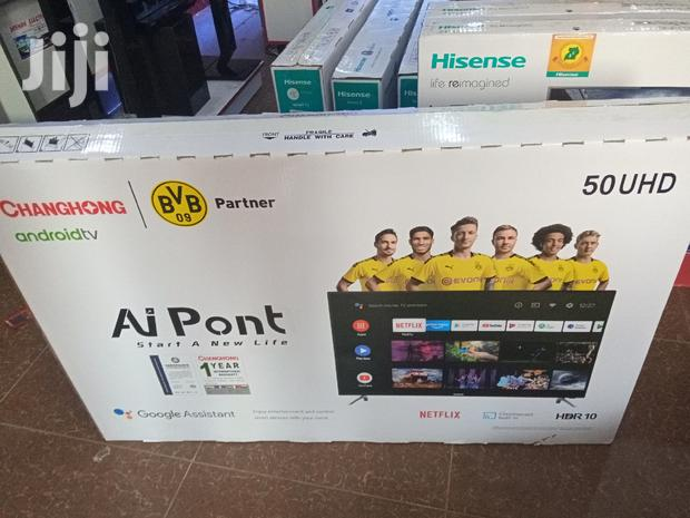 """Brand New Changhong 50"""" Smart Android Ultra Slim 4K UHD TV 50 Inches"""
