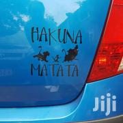 HAKUNA MATATA Lion King Simba Car-styling Vinyl Stickers Decal Bike   Vehicle Parts & Accessories for sale in Central Region, Kampala