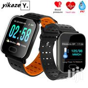 Wearpai A6 2020 Big Screen Smart Fit Healthy Tracker Watch New Edition | Smart Watches & Trackers for sale in Central Region, Kampala