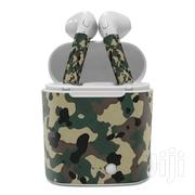 I7s Bluetooth Wireless Airpods With Army Camouflage Sticker | Headphones for sale in Central Region, Kampala
