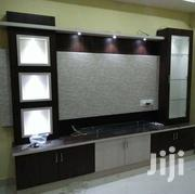 Tv Stand With Glass Shelves With Lights. | Furniture for sale in Central Region, Kampala