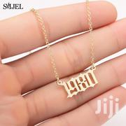 Personalised Year Number Necklaces for Women | Jewelry for sale in Central Region, Kampala