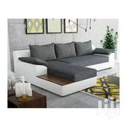 L Shaped Sofa Set - Grey,White  Generic | Furniture for sale in Central Region, Kampala