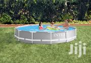 Intex 12ft X 30in Prism Frame Pool Set With Filter Pump | Garden for sale in Central Region, Kampala