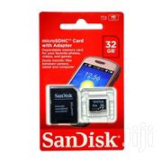 32gb Memory Microsd Card Sandisk | Accessories for Mobile Phones & Tablets for sale in Central Region, Kampala