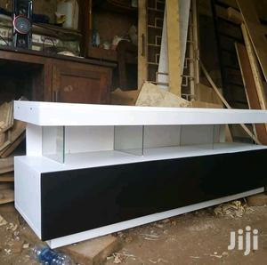 Tv Stand White and Black