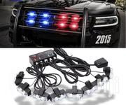 Red Blue Amber White 8x2 Police Car LED Flash Emergency Car Grill   Vehicle Parts & Accessories for sale in Central Region, Kampala