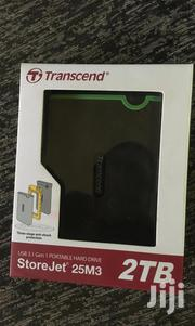 Transcend External Hard Drive 2TB | Computer Hardware for sale in Central Region, Kampala