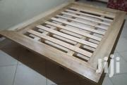Clean Wooden Bed | Furniture for sale in Central Region, Kampala