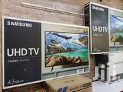 Samsung Ru7100 Smart 43 Inches Uhd(4K) Flat Screen Tv. | TV & DVD Equipment for sale in Central Region, Kampala