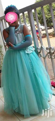 Sea Green Party Gown For 6 To 8 Yr Old Girl | Children's Clothing for sale in Central Region, Kampala