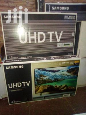 "Samsung 43"" Smart 4K UHD LED Tvs. Ultra Slim Samsung 7 Series Tvs"