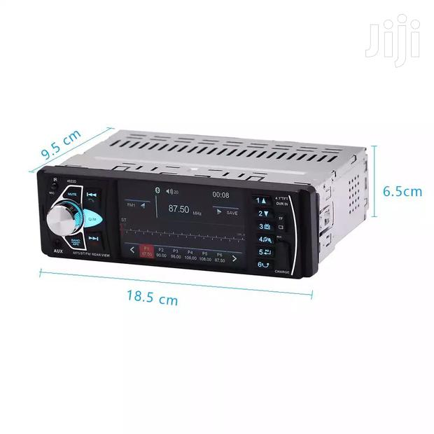 Bluetooth Car Radio With Screen