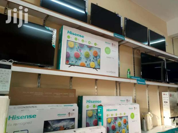 Archive: BRAND NEW HISENSE 43 INCHES SMART DIGITAL FLAT SCREEN TV