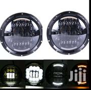 7inch Round Lights For Land Rover Jeep Pajero, GELENWAGEN | Vehicle Parts & Accessories for sale in Central Region, Kampala