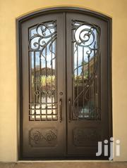 S140819 Wrought Iron Double Doors A | Doors for sale in Central Region, Kampala