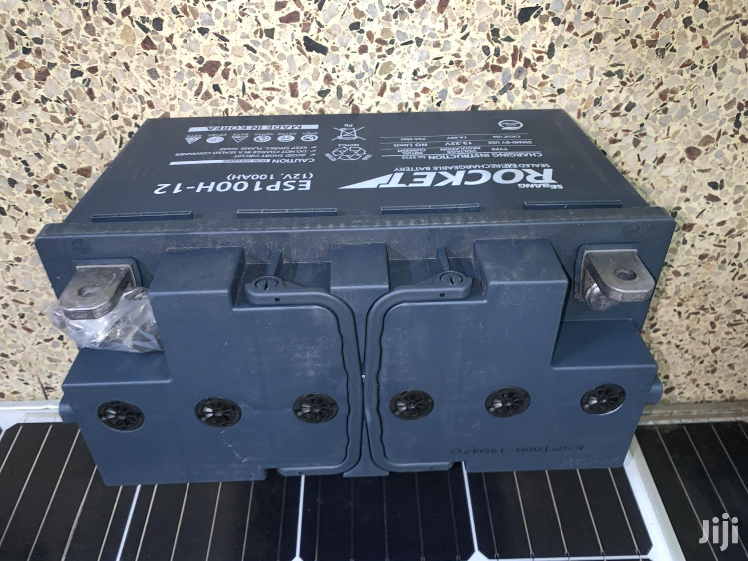 Esp100H-12 Solar Battery | Solar Energy for sale in Kampala, Central Region, Uganda