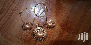 Guarantee Gold Coated Necklace and Earings