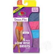 Fruit Of The Loom Women's 4pack Dreamflex Knickers | Clothing Accessories for sale in Central Region, Kampala